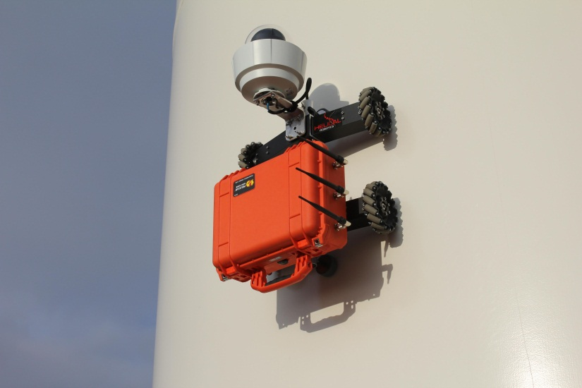 HR-MP20 deployed on windtower